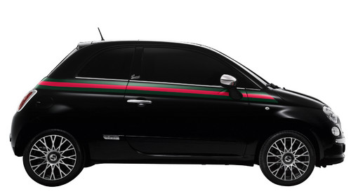 Fiat 500 by Gucci.