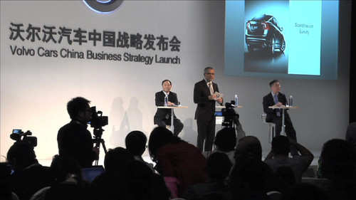 Volvo Strategie-Meeting in China.