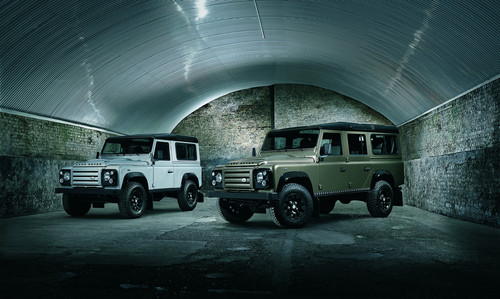 Land Rover Defender Rough.
