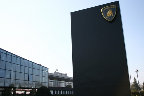 Lamborghini-Firmensitz in Santa'Agata Bolognese.