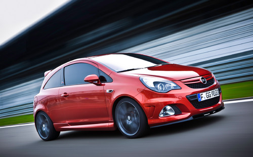 "Opel Corsa OPC ""Nurburgring Edition""."