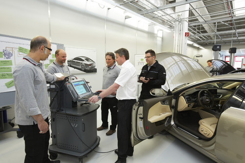 Audi Service Training Center Neckarsulm.