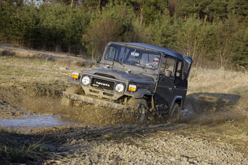Toyota Land Cruiser BJ42.