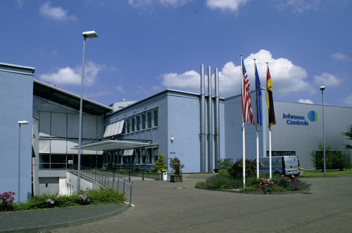 Die Europazentrale von Johnson Controls in Burscheid.