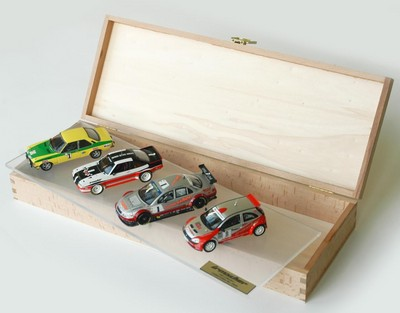 "Modellauto-Set ""History Collection"" von Irmscher."