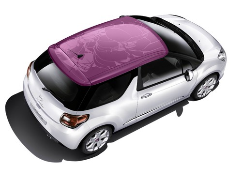 "Citroen DS3 ""Fuchsia""."