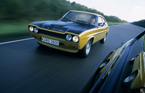 Ford Capri RS.