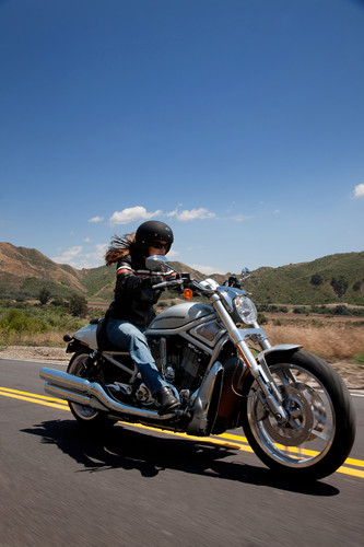 "Harley-Davidson V-Rod ""10th Anniversary Edition""."