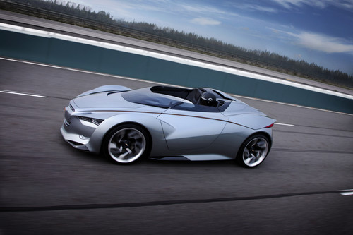 Chevolet Miray Roadster Concept.