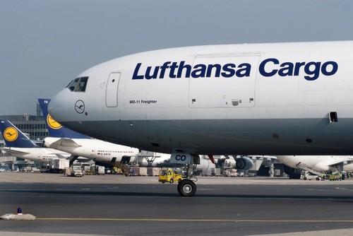 Lufthansa Cargo.