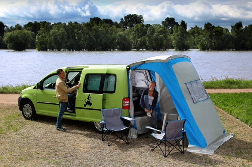 Volkswagen Caddy Tramper.