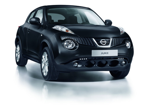Nissan Juke Pure Black.