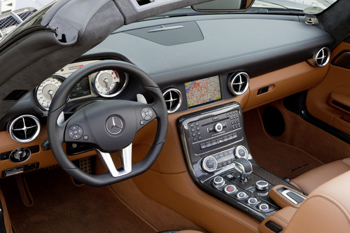 Neue Wunschausstattungen für den Mercedes-Benz SLS AMG - Auto ...