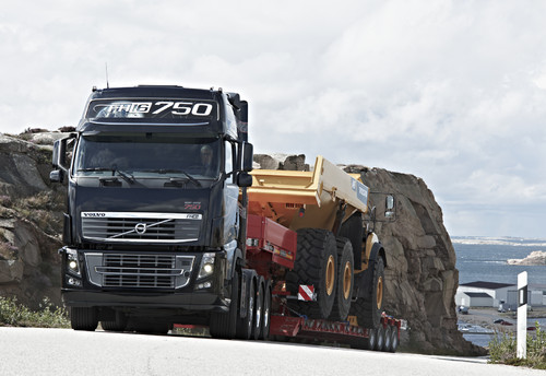 Volvo FH16 750.