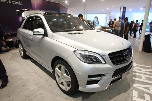 Mercedes-Benz ML 350.