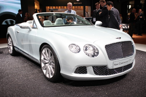 Bentley Continental GTC.