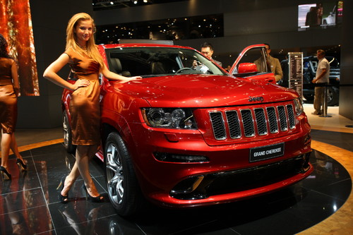 Jeep Grand Cherokee SRT8.