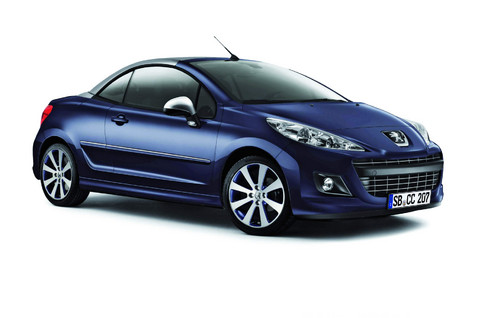 Peugeot 207 CC Limited Edition.