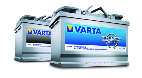 Varta Start-Stop und Start-Stop Plus von Johnson Controls.