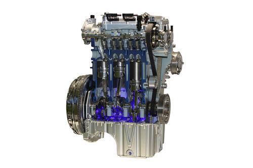 1,0-Liter-Dreizylinder-Ecoboost von Ford.