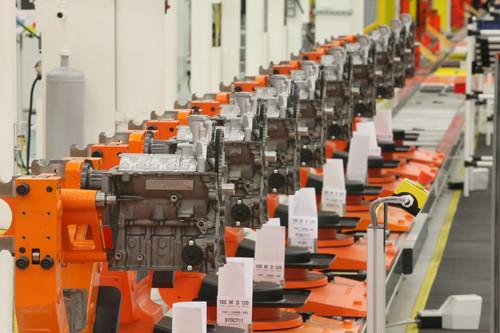 Produktion des Ford-Dreizylinder-Ecoboost.