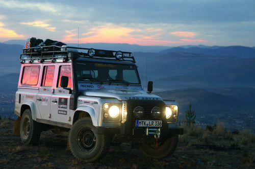 Land Rover Defender Experience Bolivien.