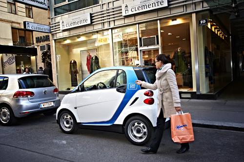 Car2go in Wien.