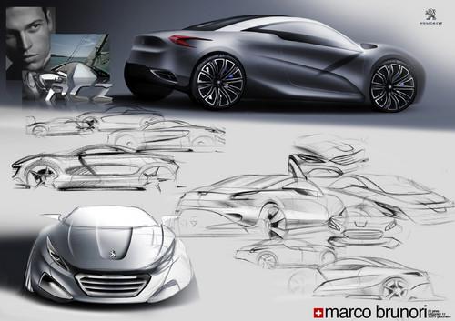 Design-Student überzeugt mit Entwurf für Peugeot RCZ - Auto ...