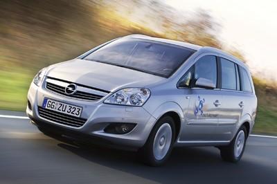 Opel Zafira 1.6 CNG Turbo Ecoflex.
