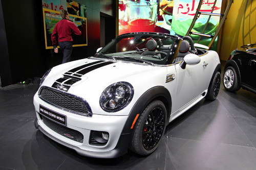 Mini John Cooper Works Roadster.