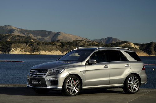 Mercedes-Benz ML 63 AMG.