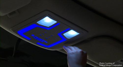 federal mogul entwickelt ber hrungsfreie innenraumbeleuchtung auto medienportal net. Black Bedroom Furniture Sets. Home Design Ideas