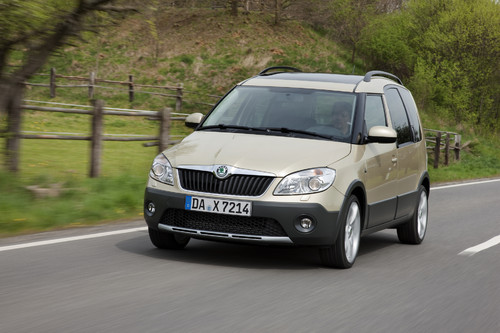 Skoda Roomster Scout.