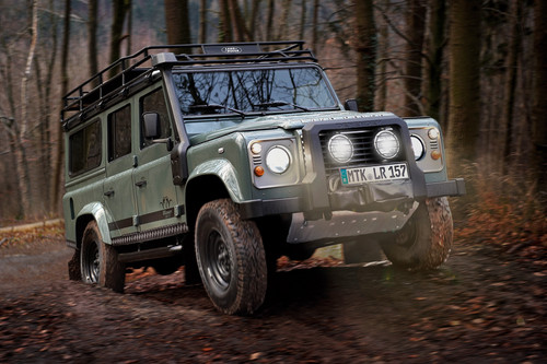 "Land Rover Defender ""Blaser Edition""."