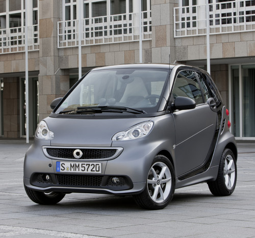 Smart Fortwo in neuem Look.