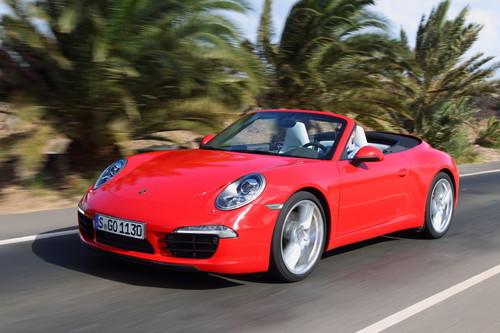 Porsche 911 Carrera Cabrio.