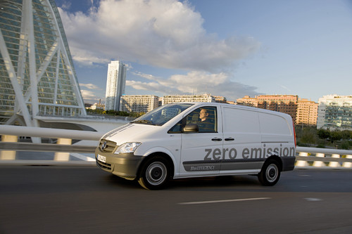 Mercedes-Benz Vito E-Cell.
