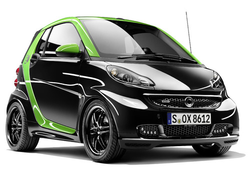 Smart Brabus Electric Drive.