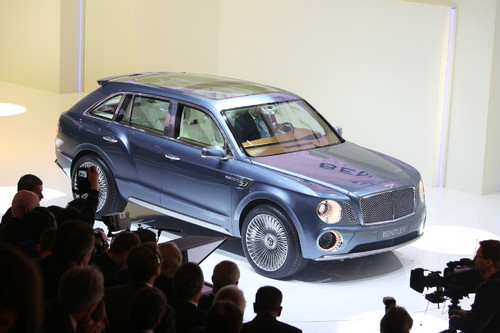 Bentley EXP 9F.