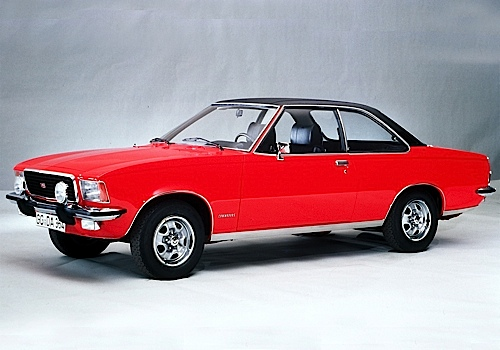Opel Commodore B GS Coupé, 1972.