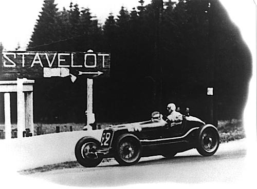 Maserati 8CM: Beim Großen Preis von Belgien 1933 errang Tazio Nuvolari den ersten Grand-Prix-Sieg für Maserati.