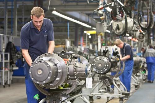 Fertigung im Mercedes-Benz-Werk Gaggenau.