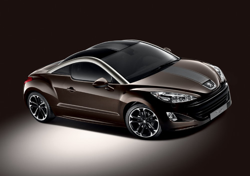 "Peugeot RCZ ""Brownstone""."