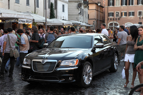 "Lancia Thema in ""To Rome with Love""."
