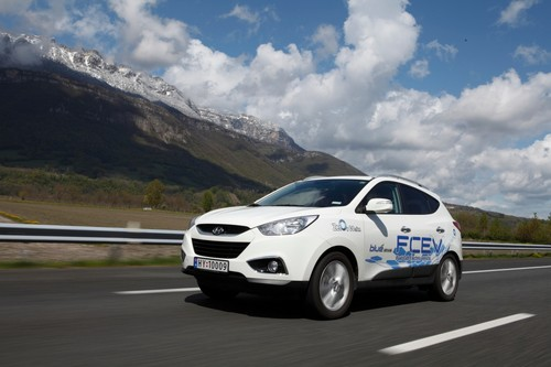 Hyundai ix35 Fuel Cell Electric Vehicles (FCEV).