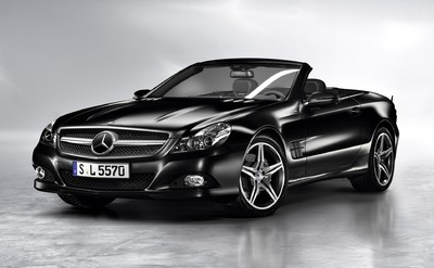 Mercedes-Benz SL Night Edition.