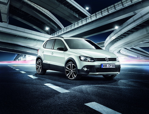 "Volkswagen Cross Polo ""Urban White""."