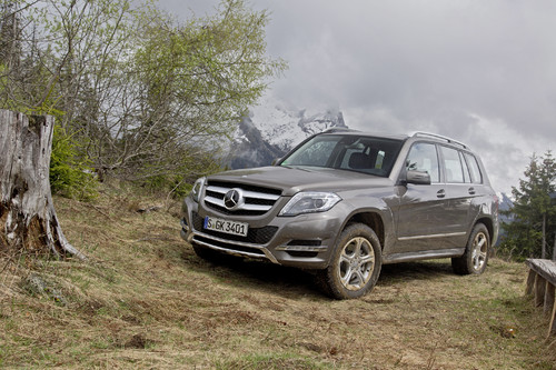 Mercedes-Benz 220 GLK 4Matic Blue Efficiency.