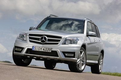 Mercedes-Benz  GLK 250 CDI 4MATIC Blue Efficiency mit AMG Sport-Paket Exterieur.