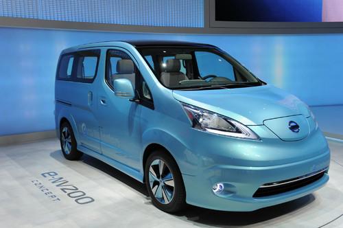 Nissan e-NV200 Concept.